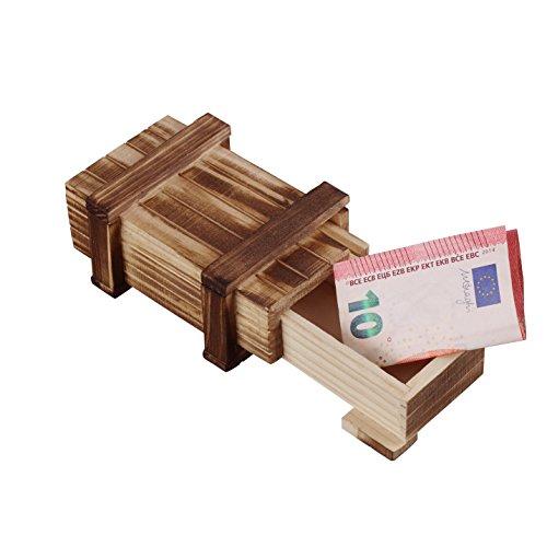 Große Box-fan (Zauberhafte Holzgeschenkbox (klein) - zum kreativen Verschenken von Gutscheinen, Schmuck und Geld)