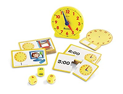 Learning Resources Time Activity Set from Learning Resources Ltd