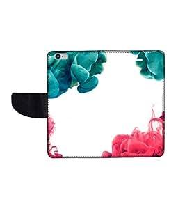KolorEdge Printed Flip Cover For Apple Iphone 6 Multicolor - (47KeMLogo11461IPhone6)