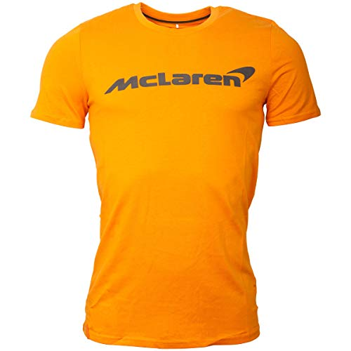 McLaren F1 - Camiseta con Logotipo, Color Naranja, Small
