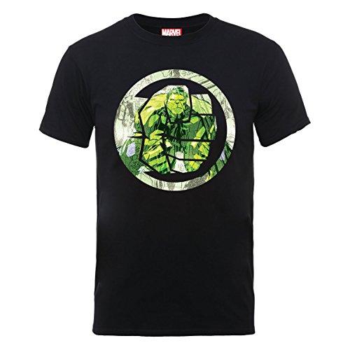 Marvel Comics Maglietta Maglia T Shirt Hulk Symbol Size M BIL