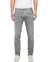 Replay Herren Straight Jeans Grover