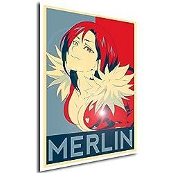 Poster Seven Deadly Sins Merlin - A3 (42x30 cm)