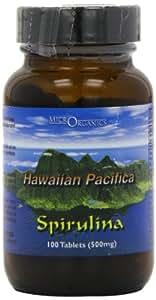 Microrganics 500mg Hawaiian Pacifica Spirulina - Pack of 100 Tablets