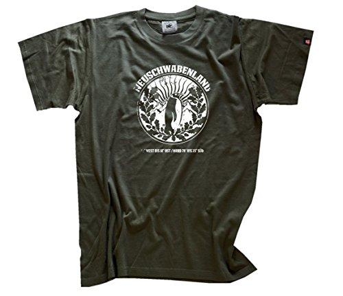 Neuschwabenland Wappen 1938 T-Shirt Olive XL
