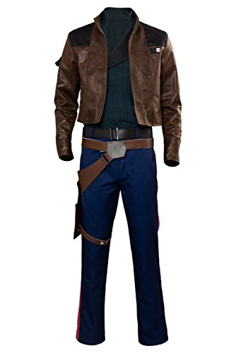 Solo: A Star Wars Story Han Solo Outfit Cosplay Kostüm Herren ()