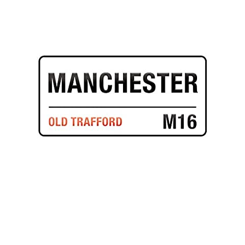 Supertogether Manchester United Wall Sticker - Old Trafford Childrens Bedroom Decal