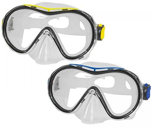 Aquatic Ibiza Tauchermaske Schnorchelbrille Taucherbrille Teenager Jugendliche