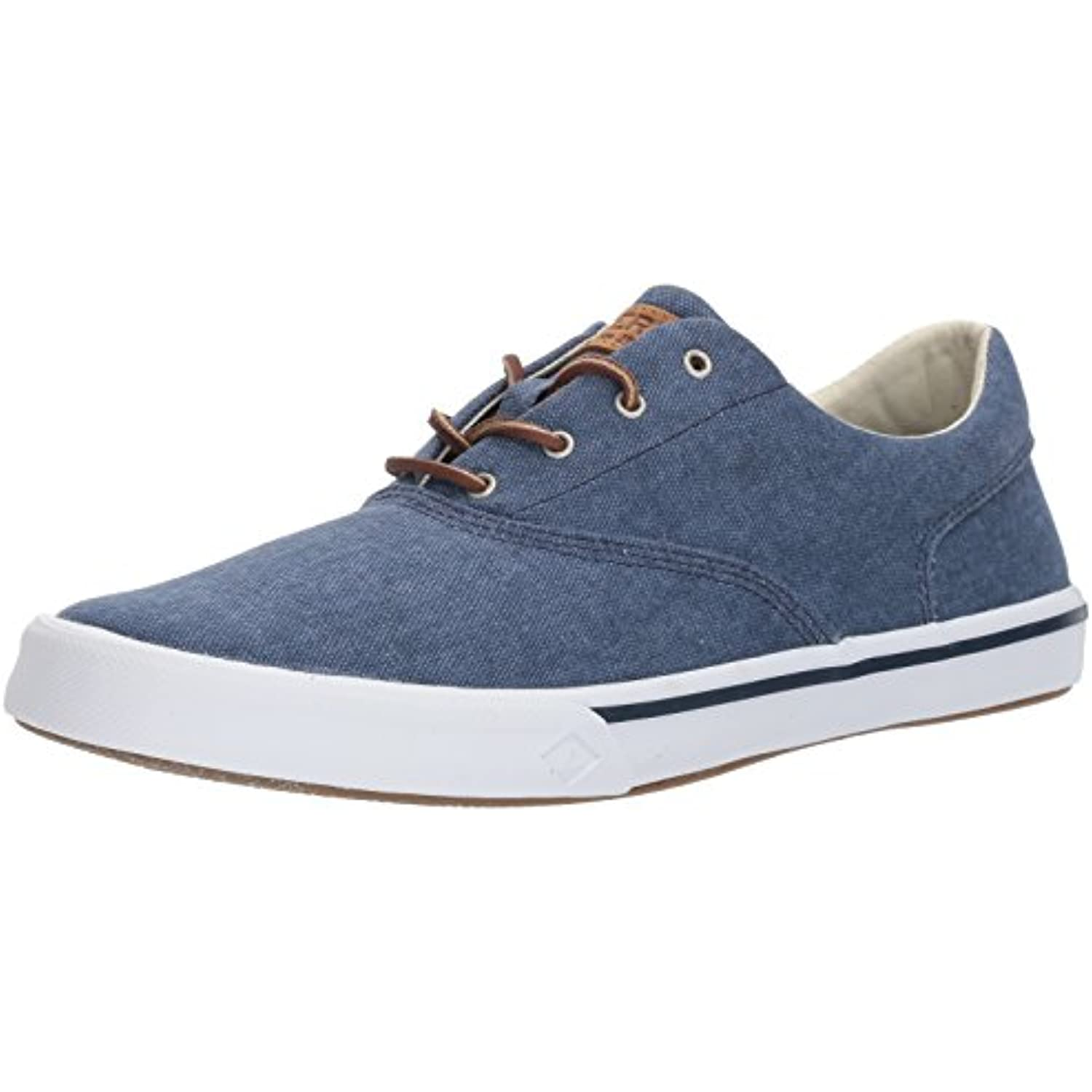 Sperry Striper II CVO Washed Parent Navy, Sneaker Uomo Parent Washed 267783