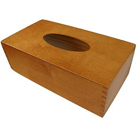 INSPIR La caja de madera barnizada hecho a mano dispensador sostenedor~ Perfecta para Kleenex® paquete ~ Perfecta para la casa, el coche, el baño, el dormitorio, el pasillo, el salón, el garaje, la cocina, la guardarropa, la oficina & hotel ~ Un regalo perfecto para el Diá del padre, Día de la madre, Navidad, Pascuas, Decoración, Temporada de la fiebre, Cumpleaños, Regalo, Diseñar, Decoupage (Teca