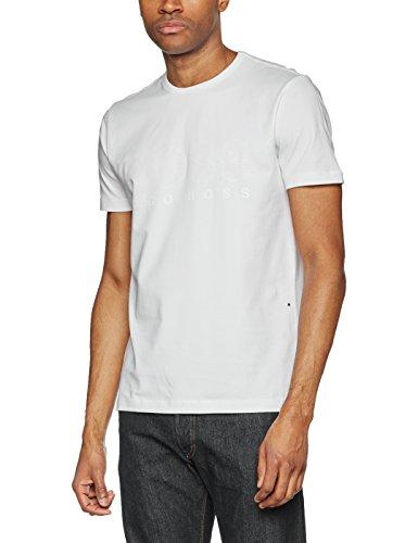 BOSS Athleisure Herren T-Shirts Tee US Weiß (White 100)