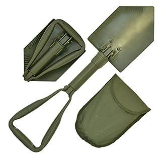 NATO Emergency Lightweight Multi-Functional Military Folding Shovel with Case