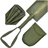 Bracelet léger multifonctions d'urgence militaire pelle pliante avec étui
