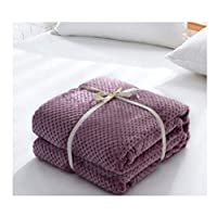 HJLHFD Flannel Kids Baby Blanket Plaids Small Pet Dog Cat Blanket Travel Office Sofa Pet Dog Blankets Throw Can Be Covered 70X100Cm