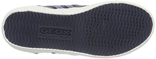Geox Jr Kiwi Boy M, Scarpe da Ginnastica Basse Bambino Blu (Navy/Blue C4264)