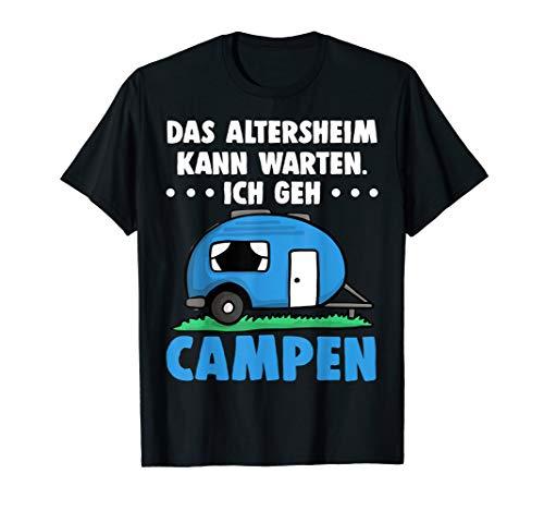Camper Camping Wohnwagen Wohnmobile Rente Geschenk T Shirt