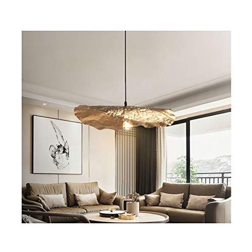 BEN-YI Lampadario Cinese Nuovo lampadario Luce di Lusso in Stile Cinese Libro Foglia di Loto lampadario a Sospensione -152 lampadario (Colore : B)