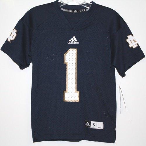 Notre Dame Fighting Irish Adidas # 1 Kinder Football Jersey