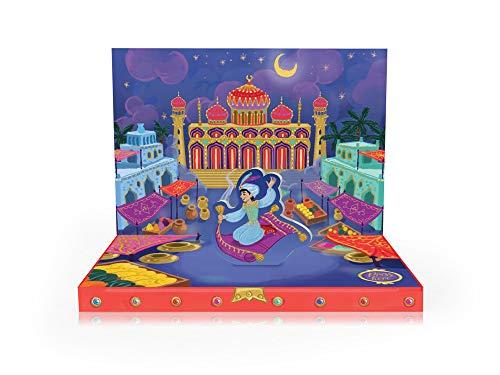 Boston International MDC18637 Grußkarte mit Musikbox, Aladdin's Adventures