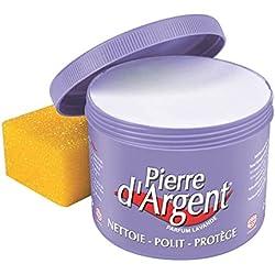 Pierre d'Argent Lavande 800g - Pierre blanche naturelle de nettoyage Parfum Lavande
