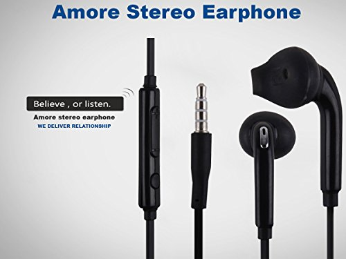 Amore Hitech Air A2 Stereo Earphone 3.5Mm Jack In-Ear Headphone Headset With Mic Compatible With Samsung, Motorola,Sony,Oneplus, Htc, Lenovo, Nokia, Asus,Lg,Coolpad, Xiaomi, Micromax And All Android Mobiles  available at amazon for Rs.149