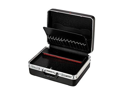 PARAT + 1945010001 Werkzeugkoffer/Werkzeugbox Limited Edition | 1 Werkzeugtafeln, 1 Abdeckplatte, 1 CP-7-Werkzeughalter, Klemmfach, Unterschale | Material: X-ABS Kunststoff (Werkzeug Nicht enthalten)