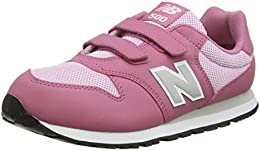 new balance fille enfants rose en cuir