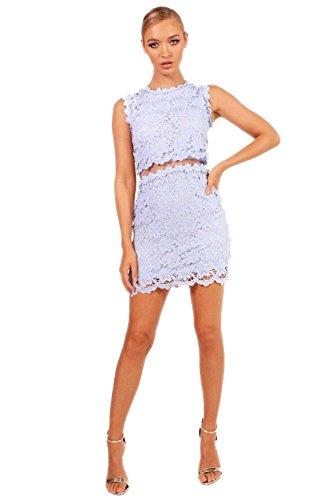 YourPrimeOutlet Womens Boutique Laura Mesh Panel Bodycon Dress