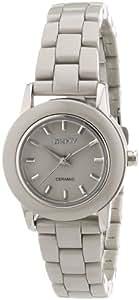 DKNY Damen-Armbanduhr XS Analog Quarz Edelstahl NY8497