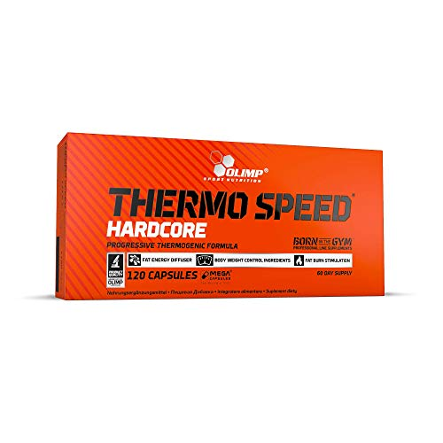 Olimp Thermo Speed Hardcore Mega Caps 120 Kapseln, 1er Pack (1 x 141 g)
