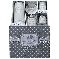 Accessori Bagno Blanc Mariclo.Set Accessori Bagno Ceramica Blanc Mariclo Amazon It