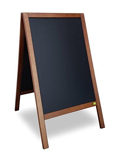 Kreidetafel-Aufsteller Holz Outdoor 90 x 51