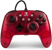 Enhanced Wired Controller for Nintendo Switch - Red Frost (Nintendo Switch)