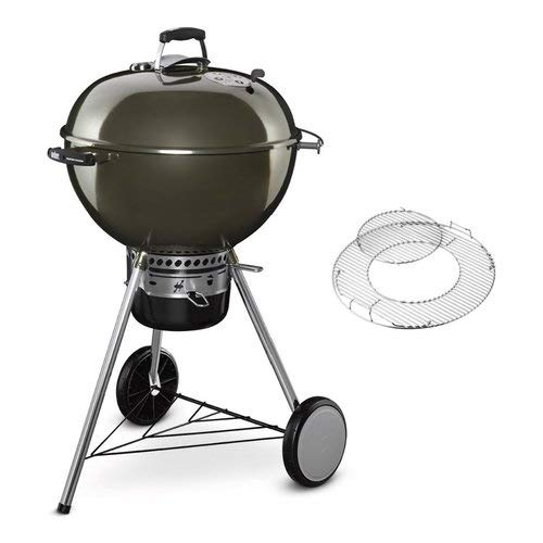 Weber Inkl. Weber's Smoken, Smoke-Chips, Aluschale u. Wireless-Thermometer
