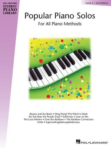 Hal Leonard Student Piano Library: Popular Piano Solos Level 2 (Hal Leonard Student Piano Library (Songbooks))
