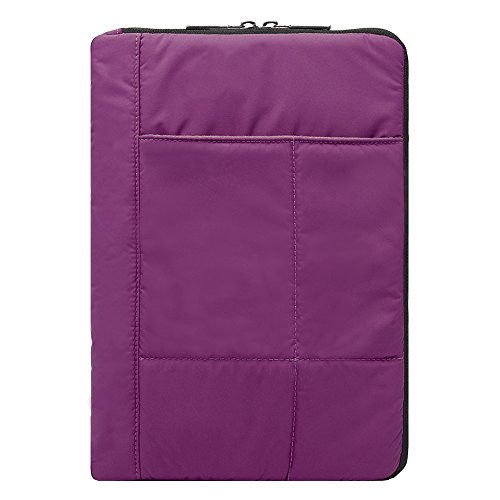 Ice Fishing-elektronik (Kissen gesteppt Sleeve Cover für Asus Transformer Book/Mini/Chromebook 25,4cm Tablets violett violett 10 Zoll (25,4 cm))