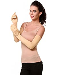 TeeMoods Womens Full Hand Protective Summer Gloves