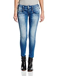 Herrlicher Damen Slim Jeanshose Pitch Denim Stretch