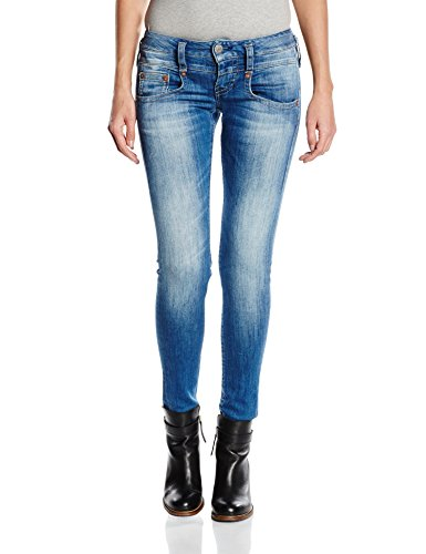 Herrlicher Damen Slim Jeanshose Pitch Denim Powerstretch