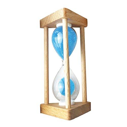 Gazechimp Sanduhren Sanduhr Zähneputzen -30 Sekunden/ 90 Sekunden / 1 Minute/ /3Minuten / 5 Minuten /10 Minuten - Blau - 30 Sekunden (30-sekunden-sanduhr Timer)