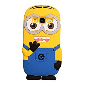 3D Double Eye Despicable For Samsung Galaxy J5 Cases Back Cover