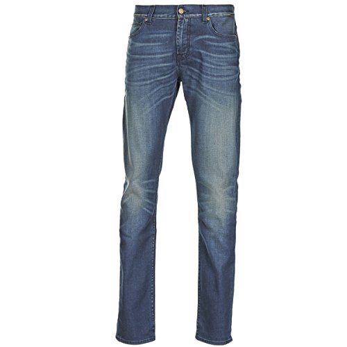 7 for all Mankind Ronnie Electric Mind Jeans Herren Blau - DE 40/42 (US 31) - Slim Fit Jeans
