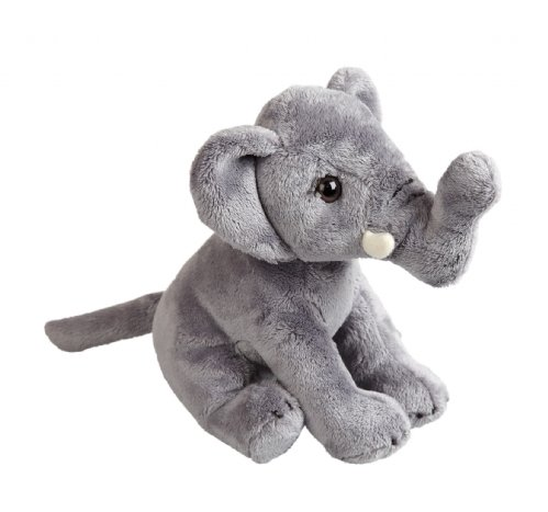 Plush Soft Toy Elephant by Ravensden from The Suma Collection. 19cm. FRS016E