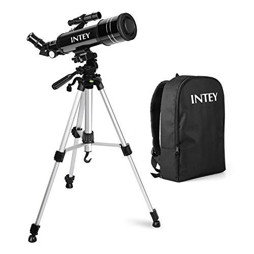 INTEY Télescope Astronomique -F40070M, Téléscope avec Oculaire...