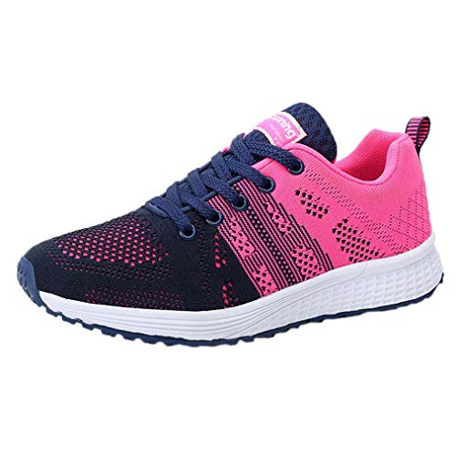 Scarpe Moda da Donna, Sonnena Sneakers in Esecuzione da Donna Sneakers da Ginnastica Leggera Scarpe Yoga Casual Scarpe da Corsa Stringate Piatte per Studenti