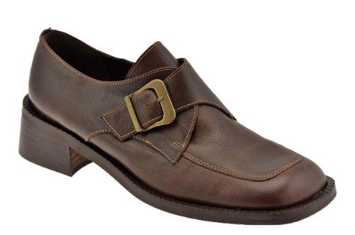 Bocci 1926 Ville Boucle Mocassins Neuf Chaussure. Brun