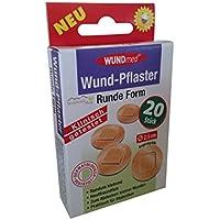 Wund-Pflaster 20er Runde Form Hautfarben preisvergleich bei billige-tabletten.eu