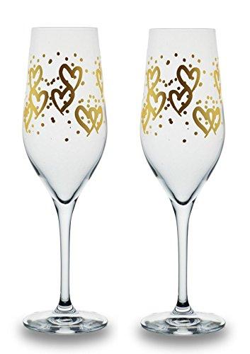 Bohemia Cristal 093 006 068 - Juego de copas de champán (capacidad de