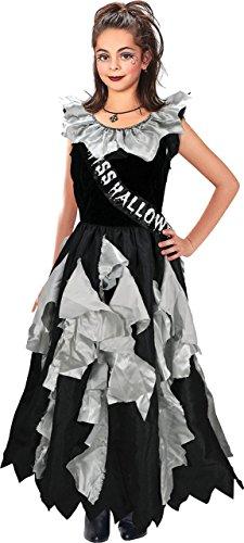 Kids Fancy Club Party Zombie Ball Königin Komplettes Kostüm Buch Woche Tag Outfit - Buch Woche Kostüm Für Kids