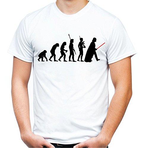 Evolution Darth Vader Männer und Herren T-Shirt | -
